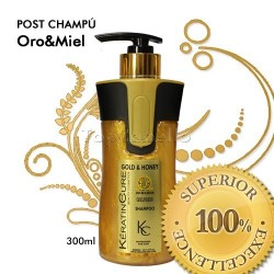 Keratine Cure - Post Champú Oro&Miel 300ml