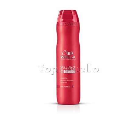 Wella Champú Brilliance Cabello fino/normal
