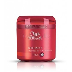 Wella Mascarilla Brilliance Cabello Coloreado Grueso