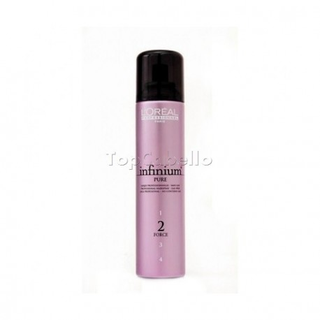 Laca Infinium Pure Normal Sin Gas Fuerza 2 LOREAL 250 ml