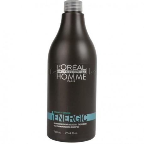 Champú Homme Energic LOREAL 750 ml