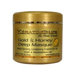 Keratin Cure Mascarilla Oro Miel Deep Mask 500gr