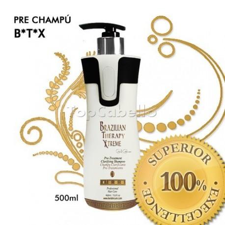 Keratine Cure - Pre Champú BTX Brazilian Therapy Xtreme 500ml