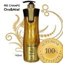 Keratin Cure - Pre Champú Oro Miel 960ml