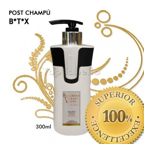 Keratine Cure - Post Champú BTX Brazilian Therapy Xtreme 300ml
