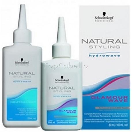 Permanente Natural Styling Glamour Kit Schwarzkopf 80 ml + 100 ml