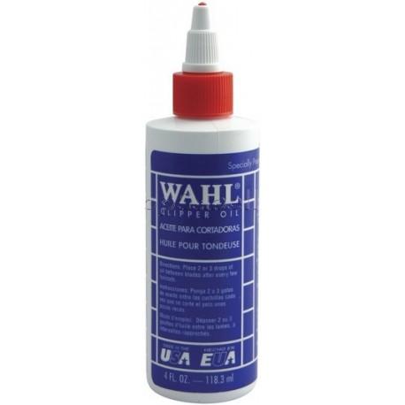 Aceite lubricante para máquinas cortapelo Moser Wahl 118ml