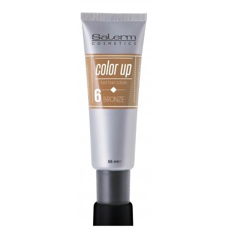 Tinte colores salerm color up n 6 bronce topcabello tienda online de productos de peluquer a - Cuanto dura un bano de color ...