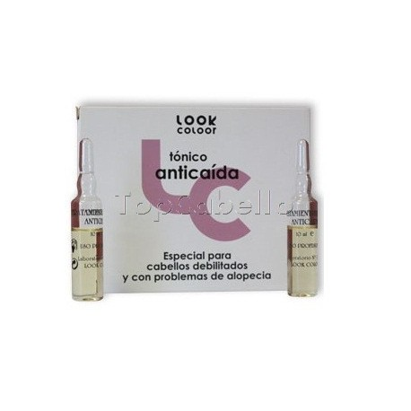 Tónico Anticaída Look Coolor (Caja 6 ampollas)