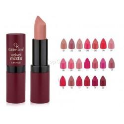 Barra de labios Velvet Matte Lipstick Golden Rose