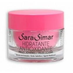 Crema Hidratante Antioxidante Sara Simar 50ml