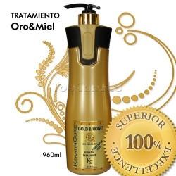 Keratin Cure - Tratamiento Keratina Oro Miel 960ml