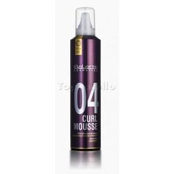 Espuma Rizos Extrafuerte Salerm ProLine 04 Curl Mousse 300ml