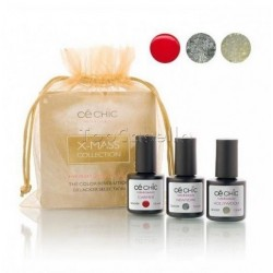 Mini Kit esmaltado semipermanente Gelacker X-MASS Ce Chic (3 x 7,5ml)