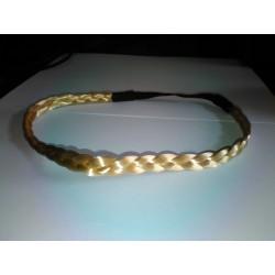 Headband Trenza Fina Color RUBIO