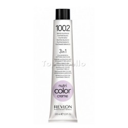Nutri Color Creme REVLON Color 1002 Platino Blanco Tubo 100ml