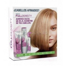 Pack Cofre FULL DENSITY Biolage MATRIX (Champú + Acondicionador + Spray)
