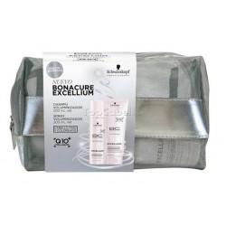 Pack Schwarzkopf Bonacure EXCELLIUM Volumen (Champú + Acondicionador + Neceser)