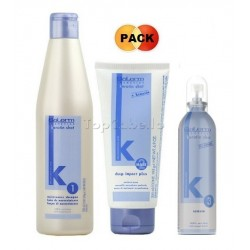 Pack KERATIN-SHOT (Champú Keratina 500ml + Mascarilla 200ml + Serum 100ml)