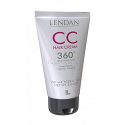 Tratamiento capilar sin aclarado CC HAIR CREAM 360º LENDAN 150ml