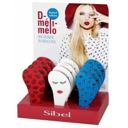 Cepillo Desenredar LIPS D-Meli Melo Sibel Ed.Limitada (Azul/Blanco/Rojo)