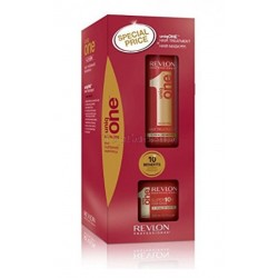Pack UNIQ ONE Revlon (Tratamiento 150ml + Mascarilla Super10r 300ml)