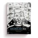 Máscara Facial Anti-Arrugas GENTLEMENS SHEET MASK Barber Pro
