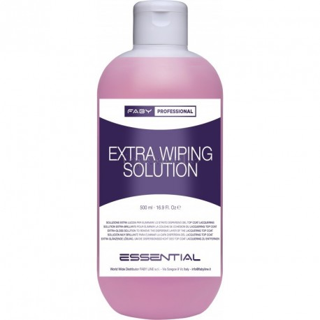 Finalizador brillo extra Extra Wiping Solution Faby 500ml