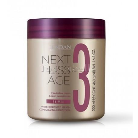 Crema Neutralizante NEXT LISS AGE LENDAN 500ml. (Paso 3)