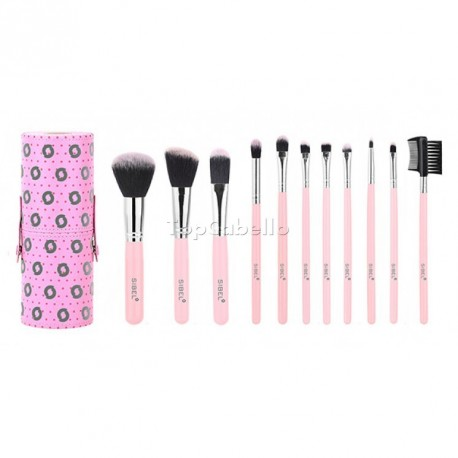 Set Brochas Make Up Pink Flamingo Sibel