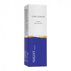 Crema antimanchas despigmentante Night Vitamin C Sara Simar 50ml