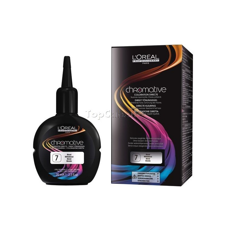 Coloraci n directa chromative loreal 70 ml topcabello - Bano de color o tinte ...
