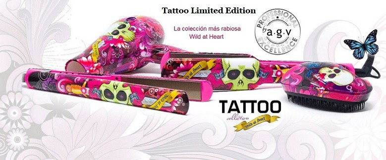 Tattoo Limited Edition - La colección más rabiosa Wild at Heart