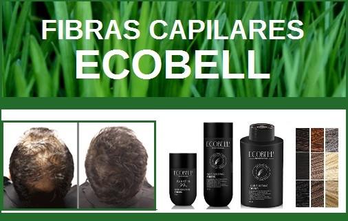 Fibras capilares Ecobell, productos para disimular la calvicie y la alopecia, maquillaje capilar, fi