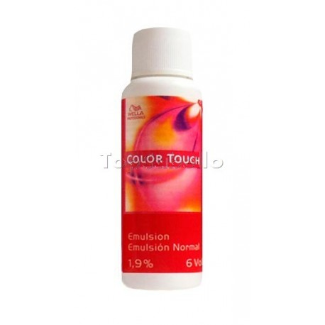 Wella Emulsion Normal Colour Touch 1,9%/6