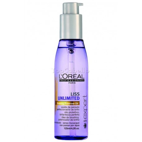 Aceite de Peinado Expert Liss Unlimited LOREAL 125 ml
