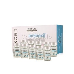 Loción Anticaída Expert Aminexil Advanced LOREAL 10 ampollas 6 ml
