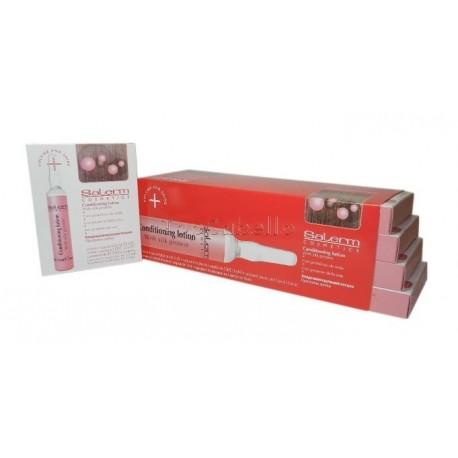 Salerm Loción Acondicionadora con Proteínas de Seda Tratamiento ampollas (32x13 ml)