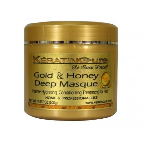Keratine Cure Mascarilla Oro&Miel Deep Mask 500gr