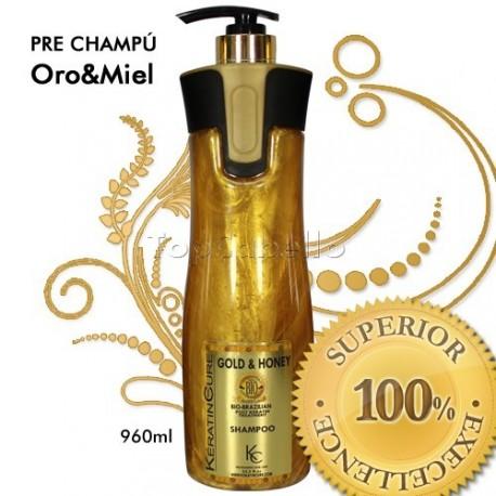 Keratine Cure - Pre Champú Oro&Miel 960ml