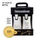 KC BTX Kit Inicio 500ml + 300ml - Tratamiento 4 Prod.