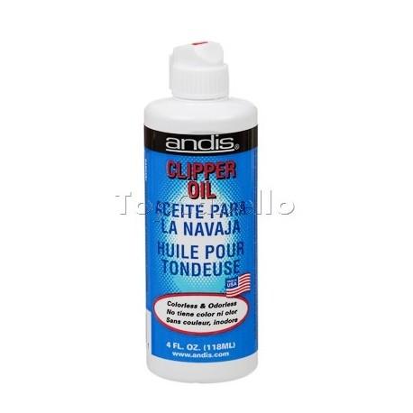 Aceite lubricante para máquinas cortapelo ANDIS 118ml