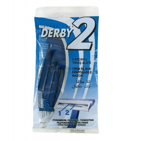 Bolsa 5 Maquinillas Afeitar Derby EUROSTIL