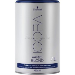 Polvo Decolorante Igora Vario Blond Plus (Azul) 450 gr