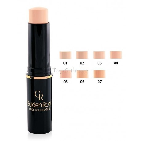 Maquillaje en barra Stick Foundation Golden Rose