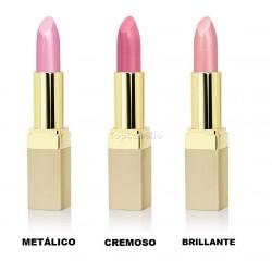 Barra de labios Ultra Rich Color Lipstick Golden Rose (Metálico, Cremoso, Brillante)