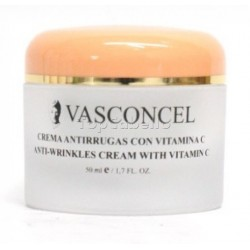 Crema Vitamina C Antiarrugas Vasconcel 50ml