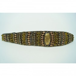 ANITA GOLD - Pink Pewter Headbands