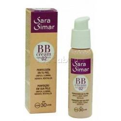 Crema color Bb Cream 02 Sara Simar 50ml