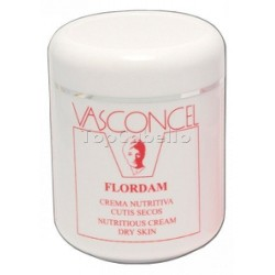 Crema Nutritiva cutis secos Flordam Vasconcel 500ml
